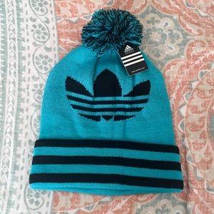 93871e905 NWT✨ Adidas Warm Winter Beanie Fleece Lined Hat NWT